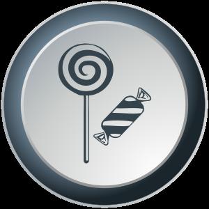 Słodycze z logo