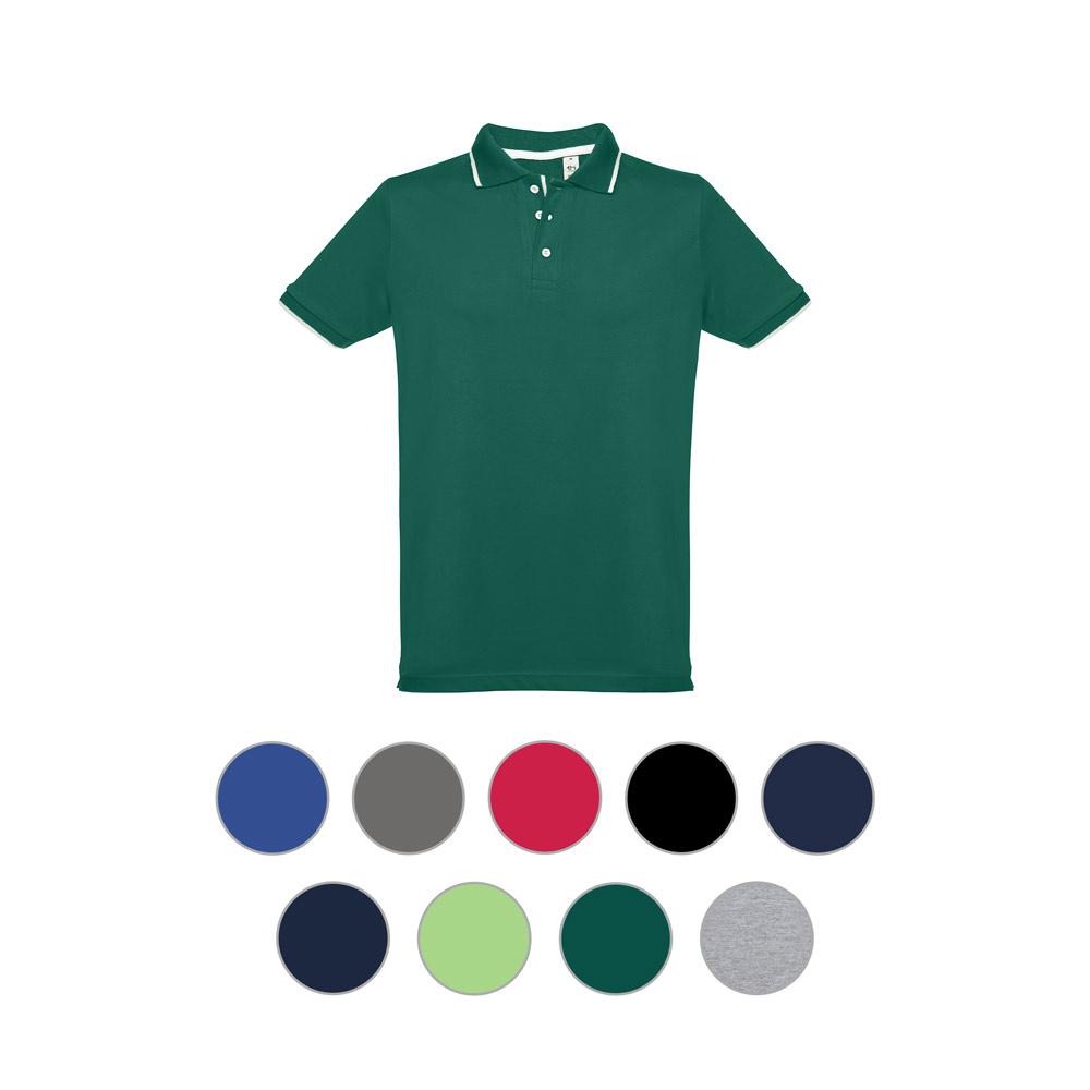 Męski slim fit polo t-shirt ROME