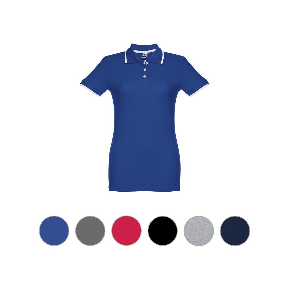 Damski slim fit polo t-shirt ROME WOMEN