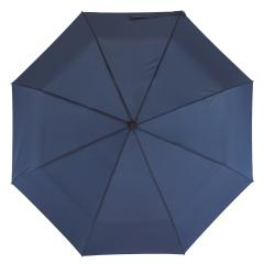 Automatyczny, wiatroodporny, kieszonkowy parasol BORA, granatowy
