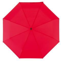 Automatyczny, wiatroodporny, kieszonkowy parasol BORA, czerwony