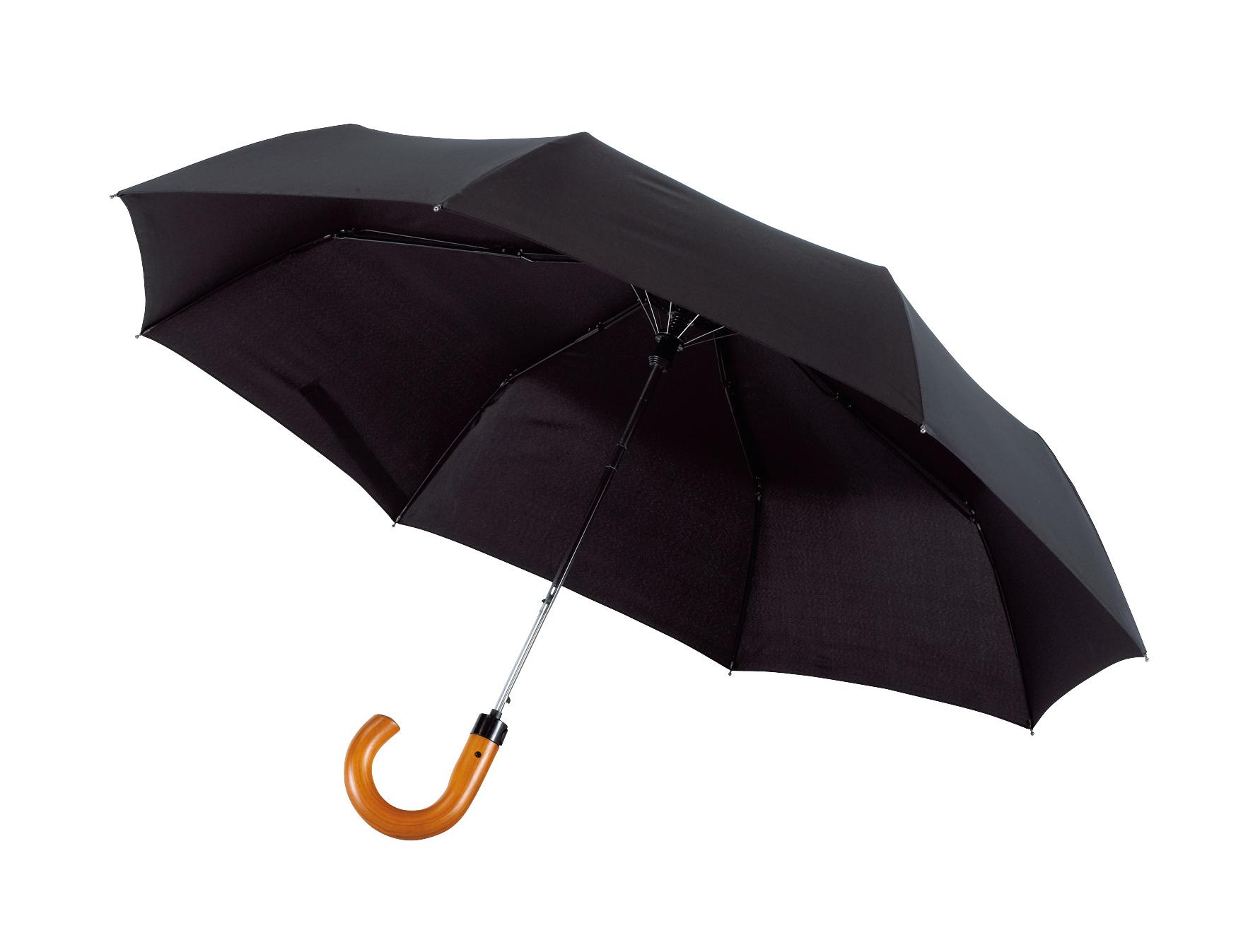 Męski parasol automatyczny LORD, czarny