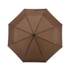 Męski parasol automatyczny LORD, ciemny brąz