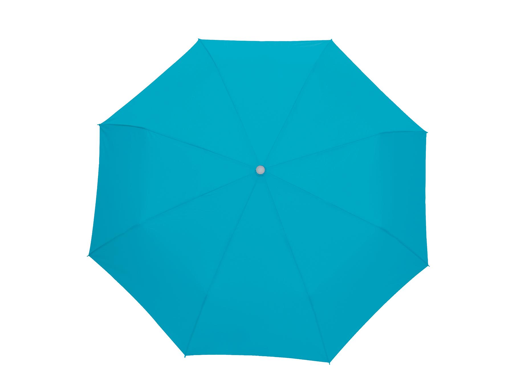 Parasol mini TWIST, turkusowy