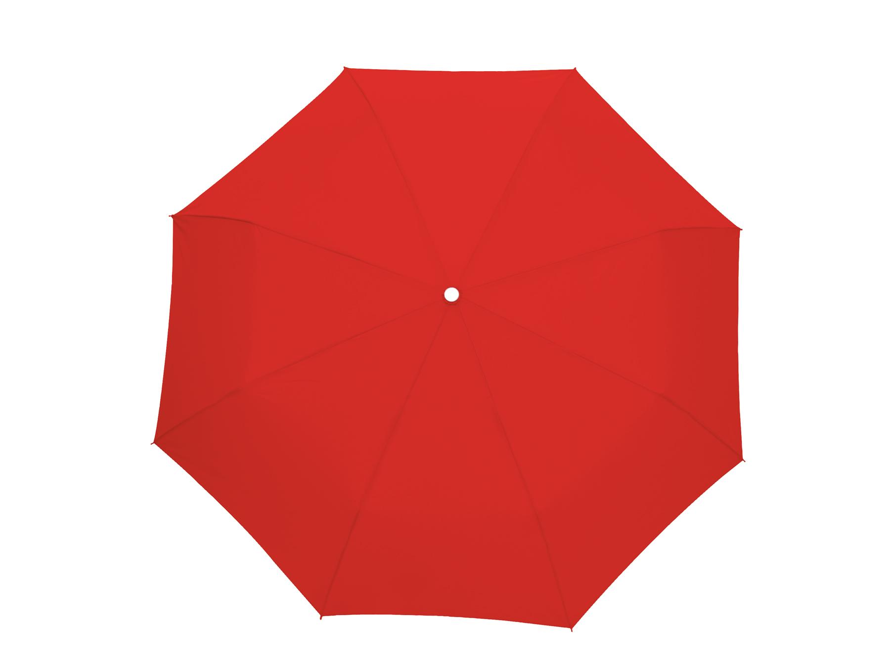 Parasol mini TWIST, czerwony