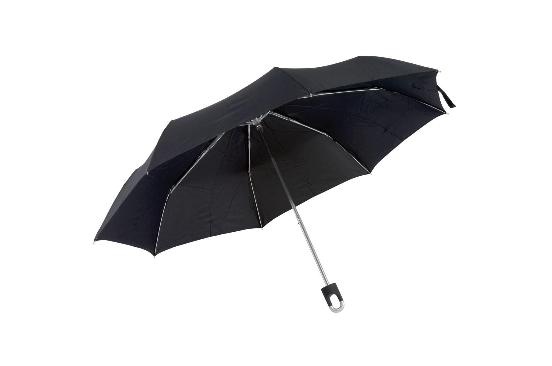 Parasol mini TWIST, czarny