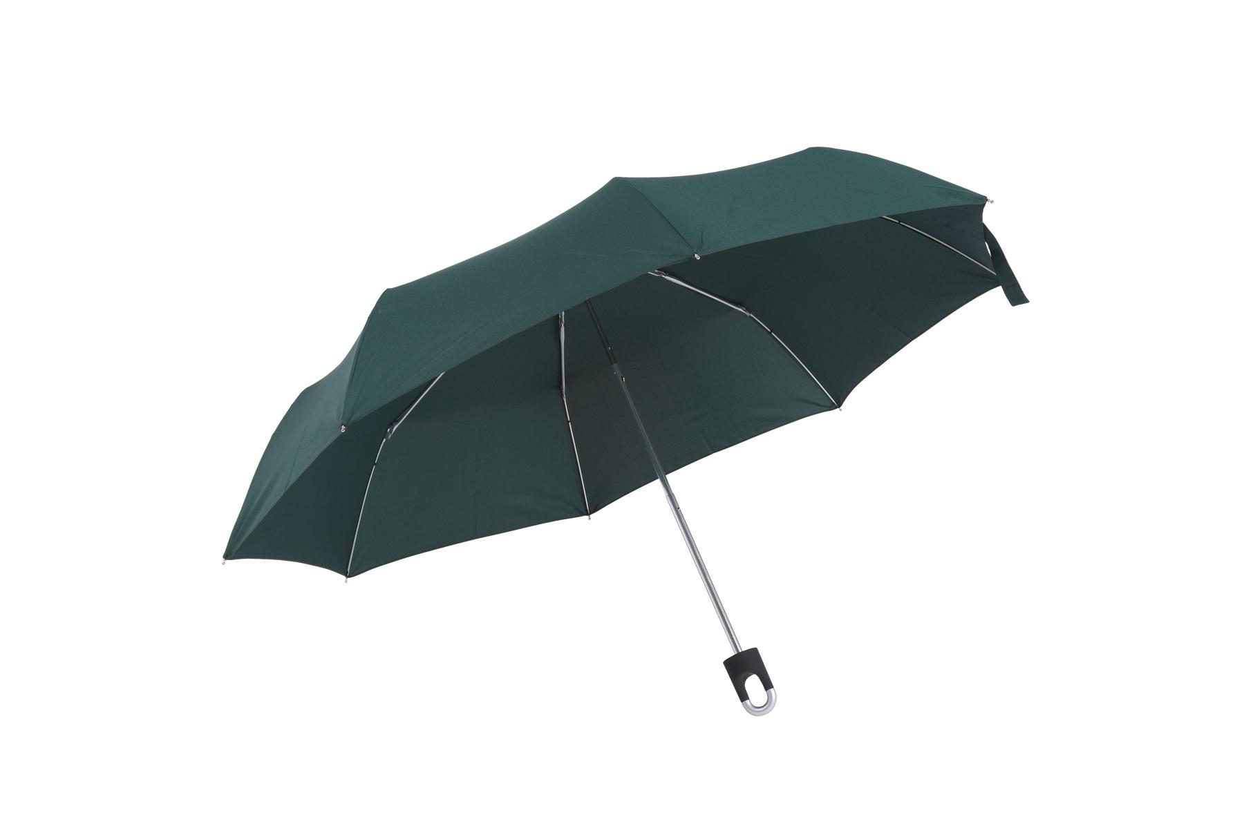 Parasol mini TWIST, ciemnozielony