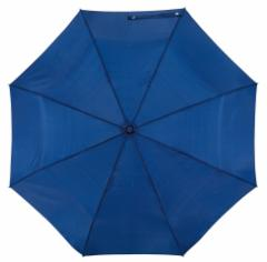 Automatyczny, wiatroodporny, składany parasol ORIANA, granatowy