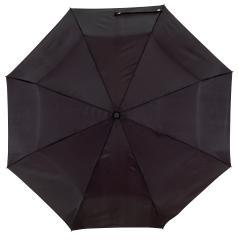 Automatyczny, wiatroodporny, składany parasol ORIANA, czarny