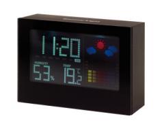 Elegancki zegar na biurko COLOUR, czarny