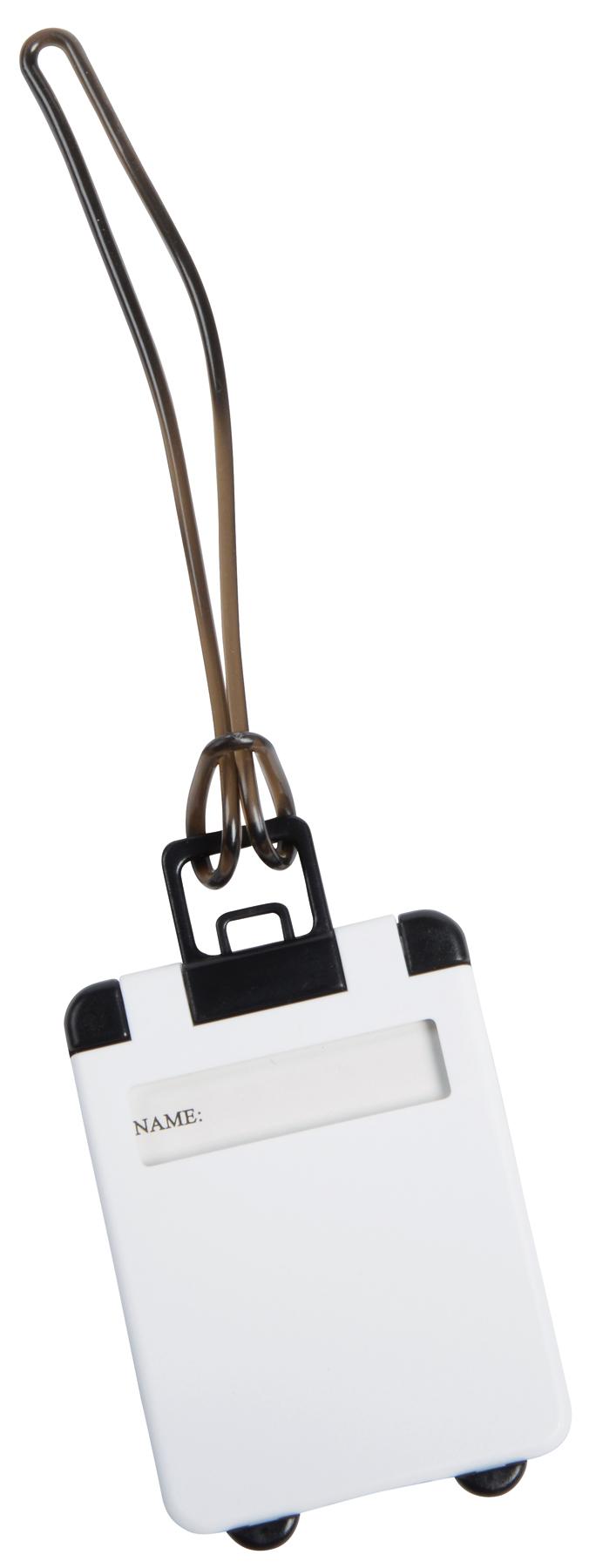 Przywieszka bagażowa WANDERLUST, biały
