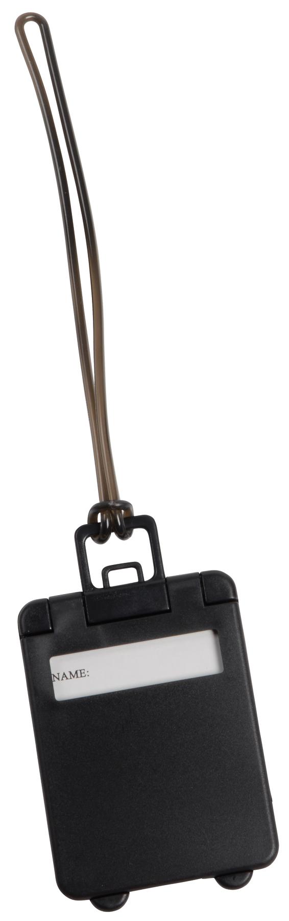 Przywieszka bagażowa WANDERLUST, czarny