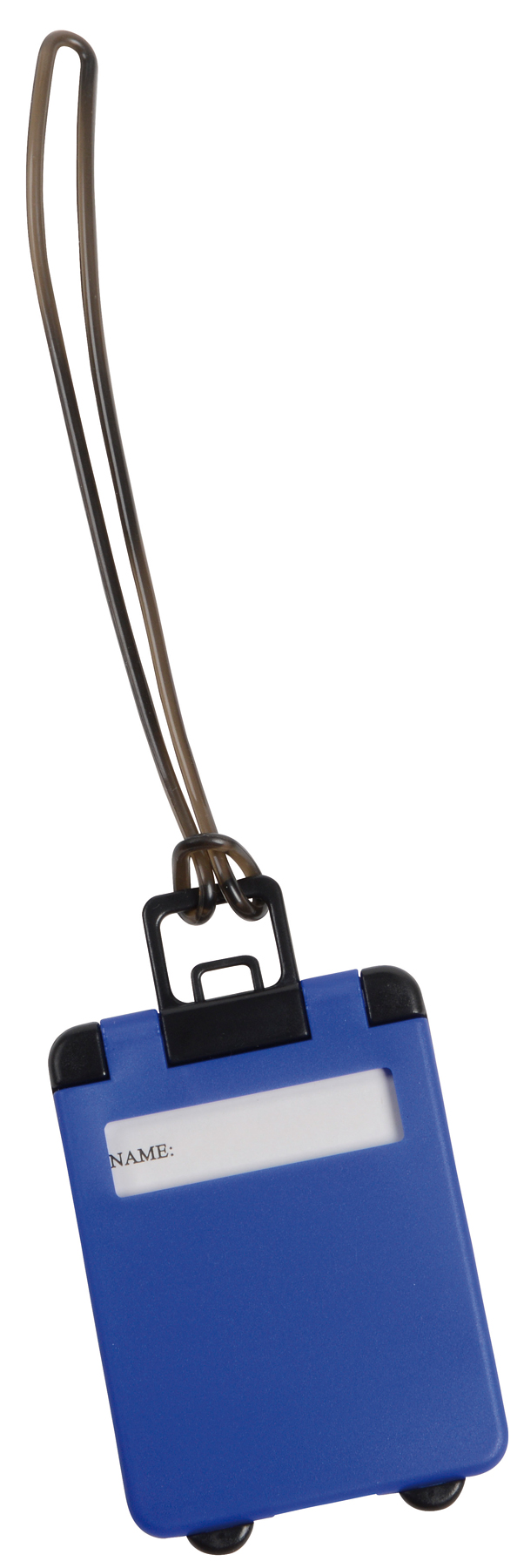 Przywieszka bagażowa WANDERLUST, niebieski