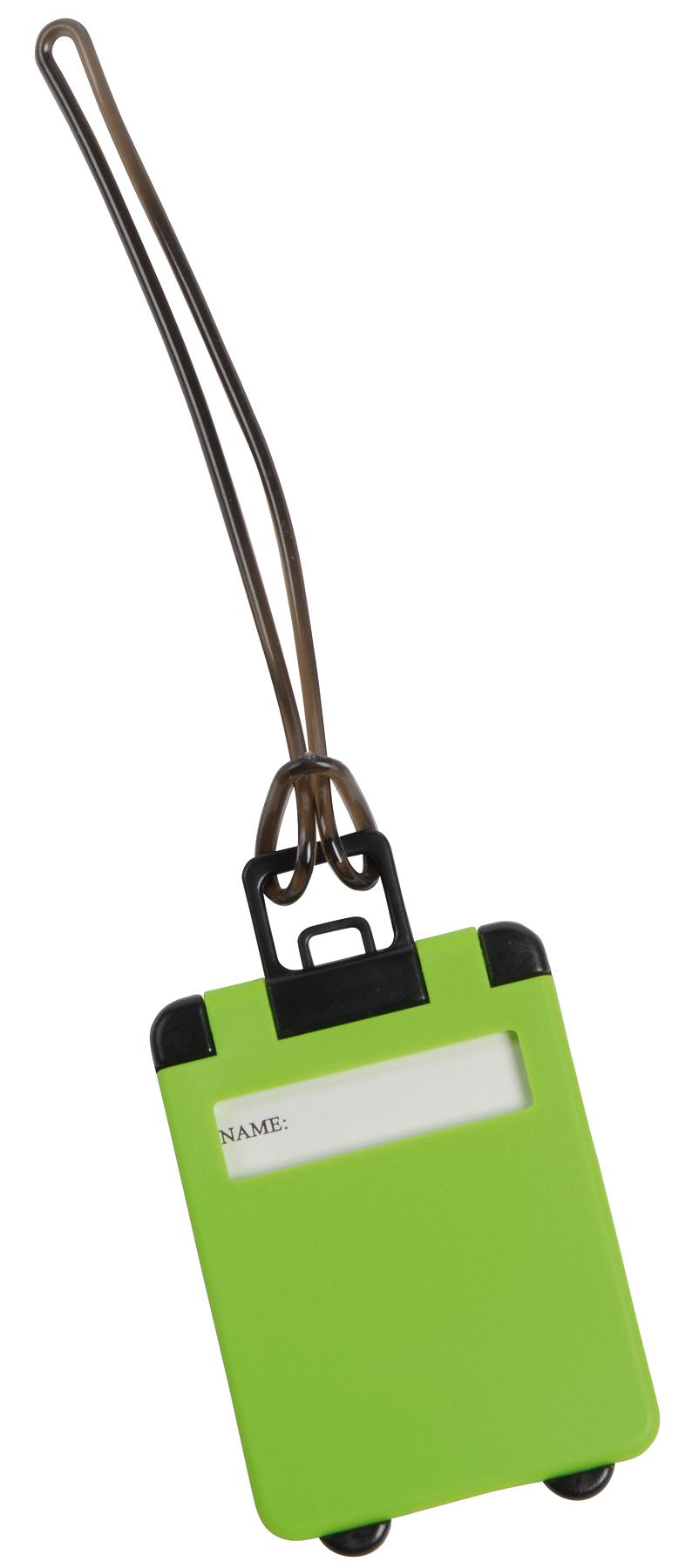 Przywieszka bagażowa WANDERLUST, zielony