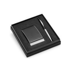 Zestaw, długopis i etui na wizytówki MURPHY