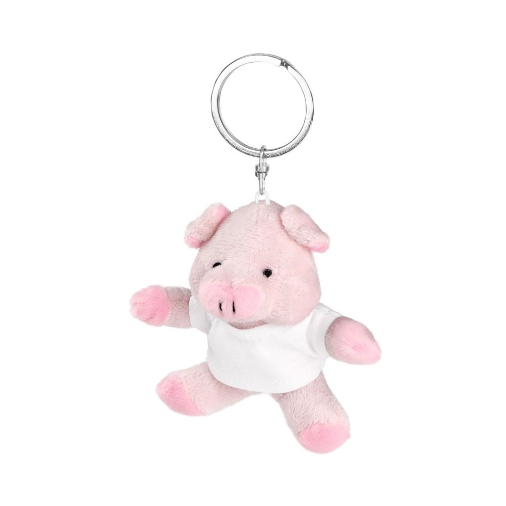 Audrie, pluszowa świnka, brelok