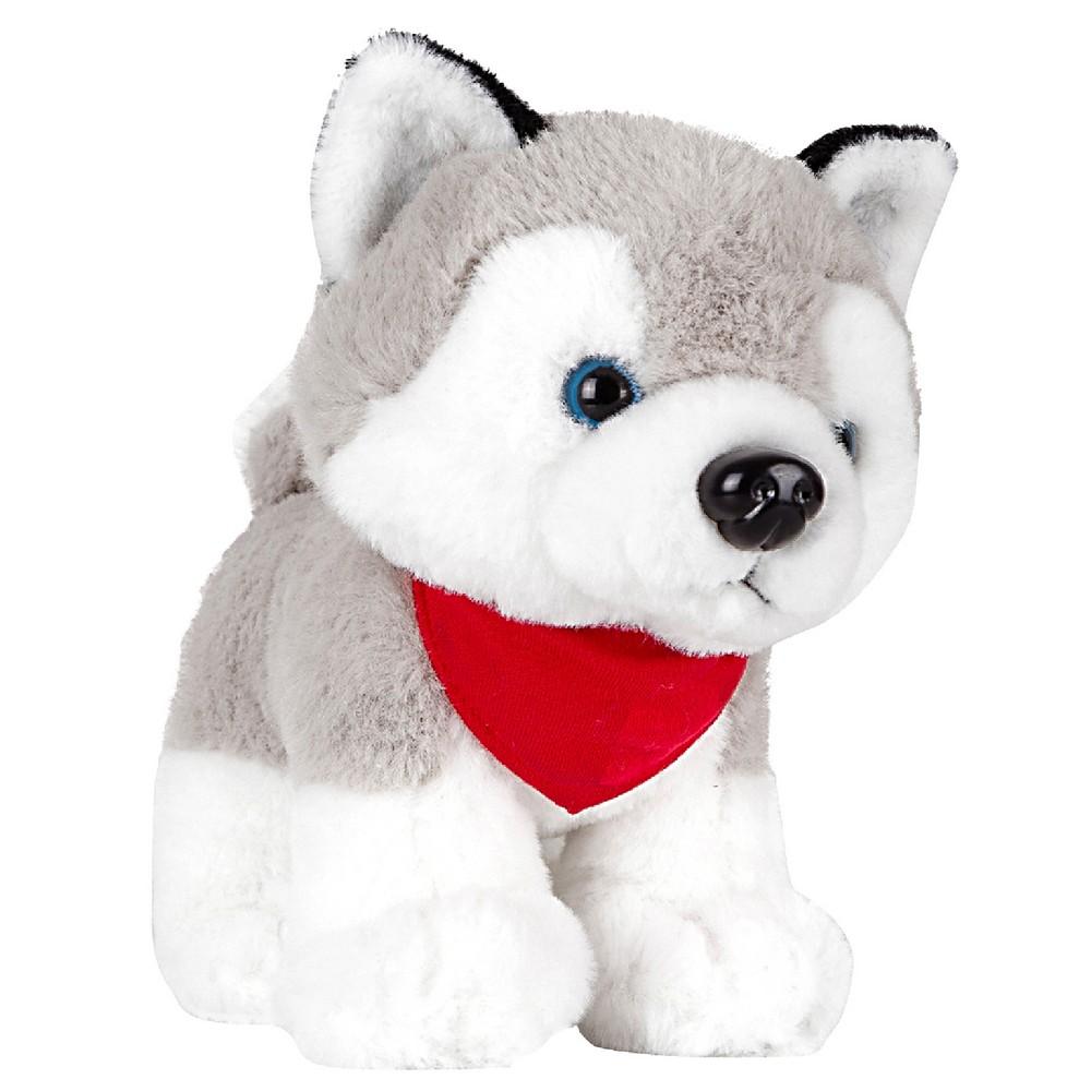 Trooper, pluszowy pies husky