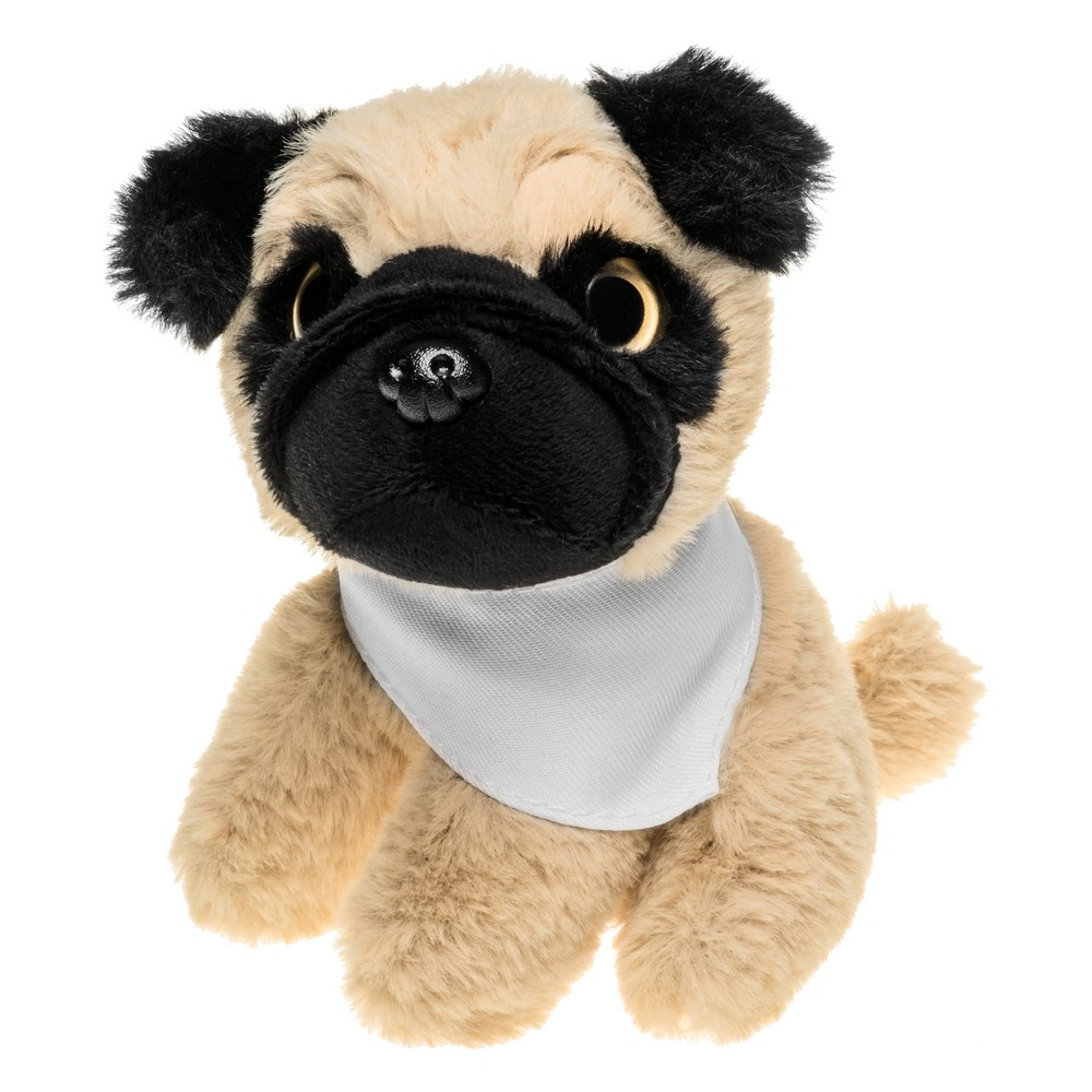 Aksel, pluszowy pies mops