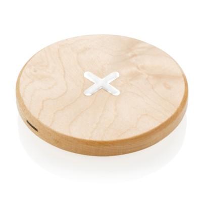 Drewniana ładowarka bezprzewodowa 5W