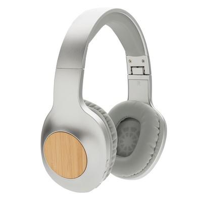 Bambusowe, bezprzewodowe słuchawki nauszne Dakota