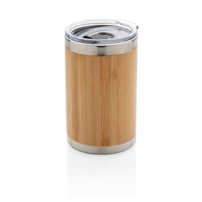 Bambusowy Reklamowy kubek podróżny 270 ml