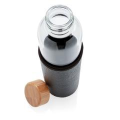 Szklana butelka sportowa 550 ml w pokrowcu