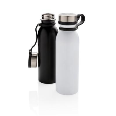 Próżniowa butelka sportowa 600 ml z silikonowym uchwytem