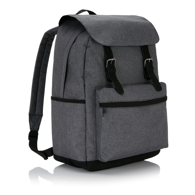 """Plecak na laptopa 15,6"""" z klamrami na magnetyczne zamknięcie"""