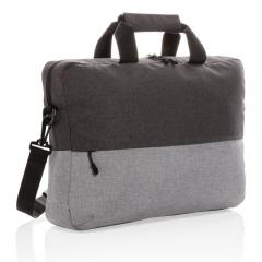 Torba na laptopa 15,6 rPET Duo Color, ochrona RFID