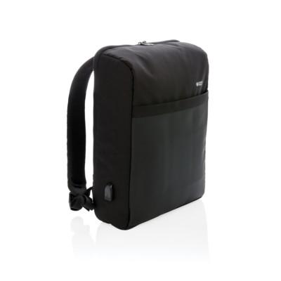 Plecak chroniący przed kieszonkowcami Swiss Peak, RFID, nie zawiera PVC