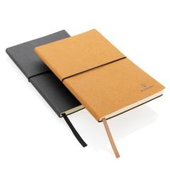 Ekologiczny notatnik A5, skórzana okładka