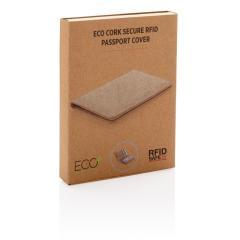 Ekologiczne, korkowe etui na karty kredytowe i paszport, ochrona RFID