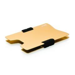 Minimalistyczny aluminiowy portfel, ochrona RFID