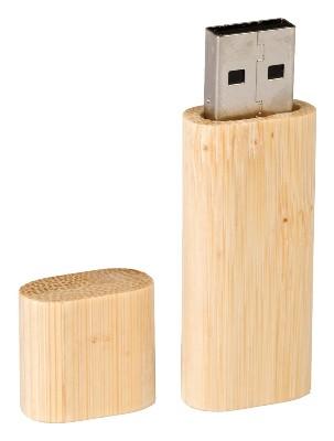 Pendrive reklamowy drewniany