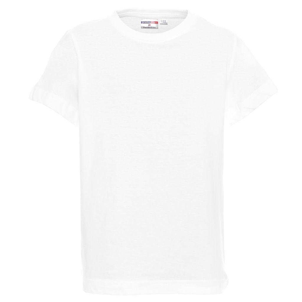 Koszulka reklamowa t-shirt standard kid biały