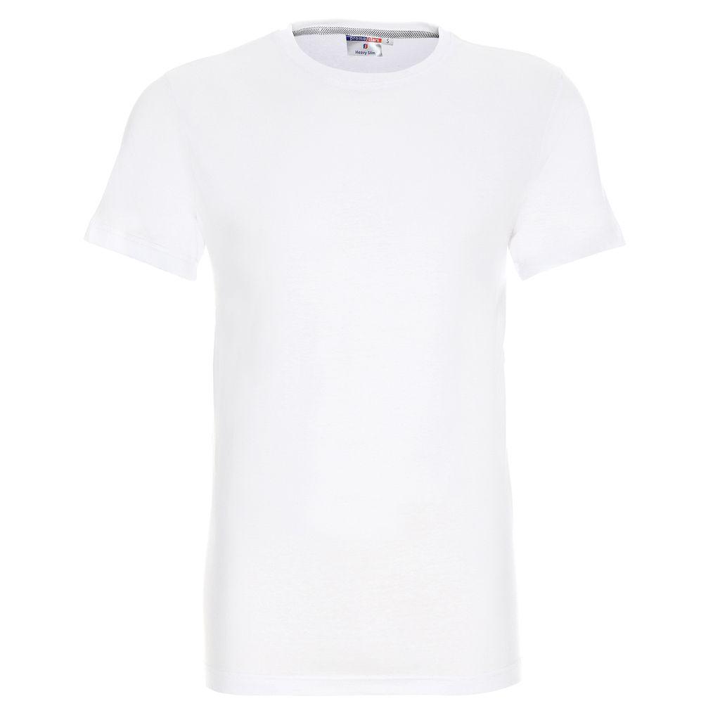 Koszulka reklamowa t-shirt heavy slim biały