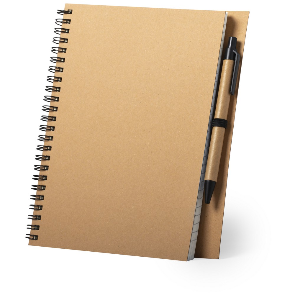 Notatnik ok. A5 z długopisem reklamowym