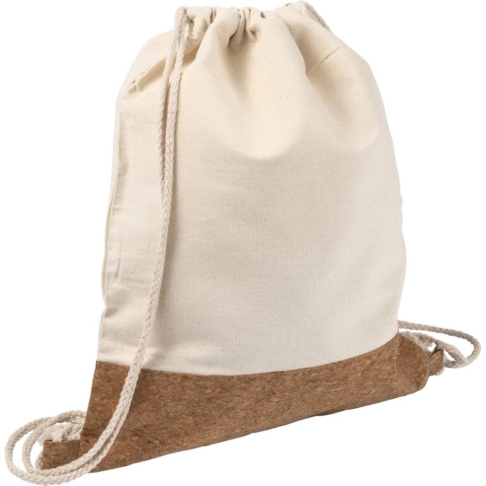 Worek ze sznurkiem cork,Cotton 250 g/m2