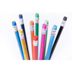 Ołówek, gumka.
